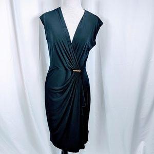 MICHAEL Michael Kors Black Cap Sleeve Dress